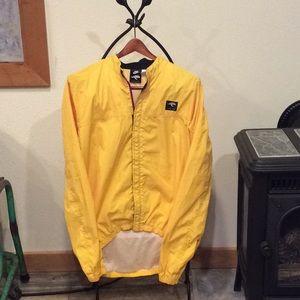 Nike medium Echelon yellow Velcro + zipper jacket.